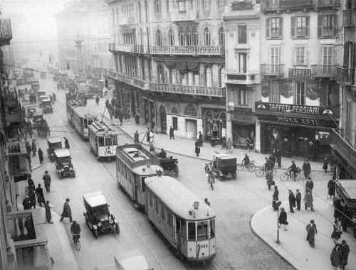 historycal tram milan