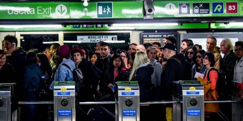strike milan public transport