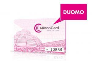 milan travel card with duomo pass